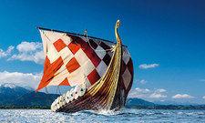 Freya: Das Wickie-Filmboot ist vom B&B Rosenheim bequem per Bahn erreichbar