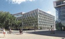 Neuzugang: Das Projekt in Münster.