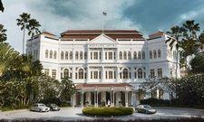 Umfassende Renovierung: Mitte 2018 erstrahlt das Raffles Singapur in neuem Glanz