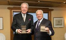 Glückliche Preisträger: Eckart Witzigmann (rechts) und Hermann Bareiss