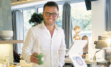 Cornelius Wagner: Grüne Detox-Smoothies trinkt der Gastronom auch selbst regelmäßig.