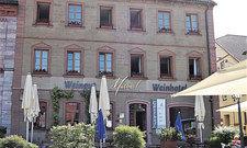 Schmucke Herberge: Das renovierte Weinhotel Müller am Hammelburger Marktplatz.