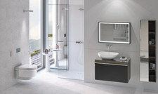 Neue Maßstäbe in Design und Technologie: Geberit bietet das Dusch-WC AquaClean Mera in den Ausführungen Comfort und Classic an.