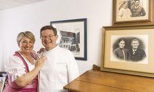 Herzliche Gastgeber: Sylvia und Markus Polinski lieben ihren Beruf.