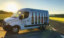Lieferservice: Kunden können das Bier im Internet bestellen – mit dem Bus wird ausgeliefert.