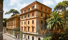 Spanische Treppe in Laufweite: Das W Hotel in Rom