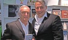 Haben viele Stunden für das Porträt zusammengesesen: Ernst Fischer (links) und Rolf Westermann.