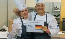 Erfolgreiches Team: Sandra Hofer und Michail Loukidis