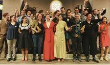 Glückliche Gewinner: Die Preisverleihung des Gastro-Gründerpreises bei der Berliner Food Week