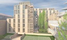 So soll's aussehen: Das geplante Meininger Hotel in Bordeaux