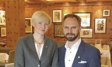 Mehr als 20 Jahre schon ein Paar: Kathrin und Denis Feix.