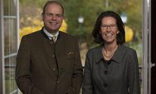 Das Tourismuskonzept S-Ky gäbe es ohne ihren Einsatz nicht: Clemens Ritter von Kempski und Susanne Kiefer von der Ritter von Kempski Privathotels GmbH