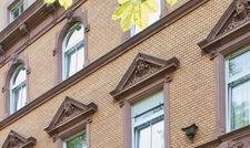 Frisch renoviert: Der Frankfurter Palmenhof.