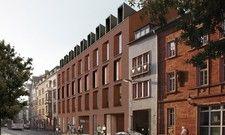 Passt sich gut in die vorhandene Bebauung ein: Das Ibis Styles Aschaffenburg