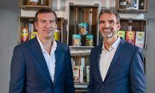 Harm van Tongeren (l.) übernimmt die Geschäftsführung von Unilever Food Solutions von Klaus Ridderbusch.