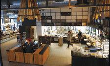 Luftig: Die offene Küche steht für Transparenz und frische Zubereitung