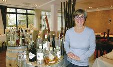 Passionierte Gastgeberin: Zum Schlosshotel von Petra Baake gehört das Restaurant Gut, in dem viele Familienfeiern stattfinden.