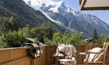 Neu bei SEH: Das Hotel Hermitage in Chamonix mit Aussicht auf die Berge