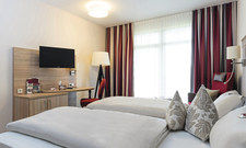 Freundich: Bis zum Jahresende müssen ältere Zimmer weichen und 30 neue Premiumzimmer wie dieses kommen hinzu.