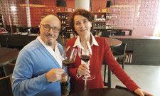 Brigitte Grung und Carlo Franchi: Im Vinipuri 2.0 setzen sie ihre Vorstellungen und die Wünsche ihrer Gäste rund um den Wein um