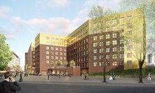 Spektakuläres Ensemble: 240 Tiefgaragenplätze für das geplante Hotel-Trio