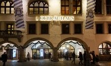 Top-Attraktion in Deutschland: Das Hofbräuhaus in München hat viele Besucher und viele Bewertungen
