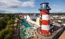Beliebte Destination: Der Europa-Park mit seinen Hotels, hier das Hotel Bell Rock