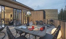 Komfort und eine eigene Sauna: Die Exclusive-Häuser werden stark nachgefragt.