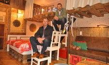 Starkes Duo: Mathias Freiheit (links) wird das Hotel Alles Paletti von Unternehmer Robert Dahl leiten