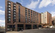 In Klinkeroptik: Die verkaufte Hotelimmobilie im Hamburger Sonninquartier