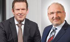 Jörg Pretzel und Matthias Zwingel (rechs): Erfahrene Experten im neuen Vorstand