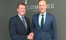 Neue Partner: Carsten Bick von der Compass Group und Hermann Kanne-Hunfeld von Kanne Café