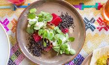 Vitamine satt: Vegetarische Gerichte sind in Restaurants beliebt