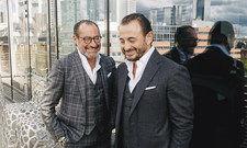 Sie lieben das Leben und das, was sie tun: Micky Rosen (links) und Alex Urseanu.