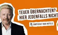Empfiehlt B&B Hotels: Boris Becker wirbt im TV