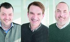 Neu bei Go In: (v.l.) Ronny Höfs, Thomas Feustle und Thorsten Quenzer