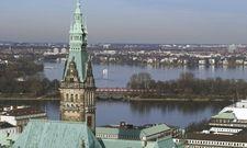 Auch bei trübem Wetter schön: Die Hansestadt Hamburg lockt weiterhin viele Touristen