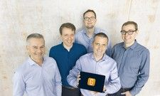 Das neue Gastrofix-Management: (v. l.) Ludwig Lutter (CFO), Reinhard Martens (COO), Ulrich Abend (CTO), Dirk Owerfeldt (CEO) und Stefan Brehm (CMO/CSO).