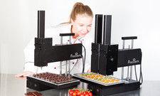 Speisen aus dem 3D-Drucker: Das zeigt die Firma Print2Taste in der Newcomers Area