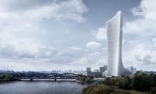 So soll er aussehen: Ein Entwurf des künftigen Elbtowers in der Hafencity