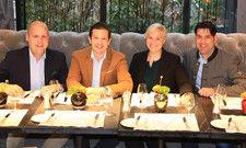 Neu an Bord: (von links) Benjamin Neelen, Anthony Brüggen, Veronika Utz, Andreas Krüger
