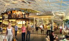 Große F&B-Auswahl: Der neue Gastro-Bereich soll zusammen mit einem Kino Besucher anziehen