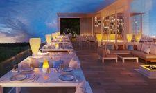 Absolutes Luxussegment: Das künftige Steigenberger Pure Lifestyle in Hurghada, hier eine Terrasse des Gourmet-Market