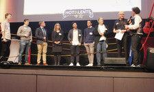 Bühnenrunde mit jungen Leuten: Beim Hotalents-Kongress in Wiesloch wurde beherzt diskutiert.