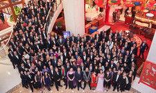 Große Gemeinschaft: 280 Worldhotels-Mitglieder und -Mitarbeiter