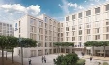 Neues Projekt: Derzeit entsteht unter anderem ein Best Western Hotel am Wiesbadener Hauptbahnhof