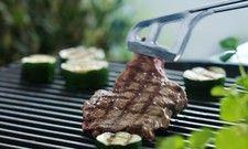 Beliebt in Sommer und Winter: Steak und Gemüse frisch vom Grill