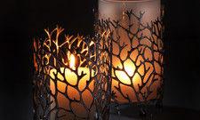 Hübsch und praktisch: Die Windlichter von Zieher machen nicht nur optisch was her. Sie schützen die Kerzen auch vor Wind.