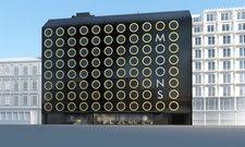 Kreisrunde Fenster: So soll das Hotel Mooons in Wien aussehen