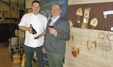 Chef und Küchenchef verstehen sich gut: Michael Buchna (rechts) und Christian Münch-Buchna.